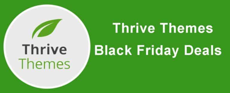 Thrive Black Friday Deals 2021