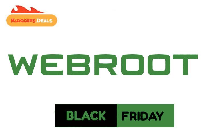 Webroot Black Friday