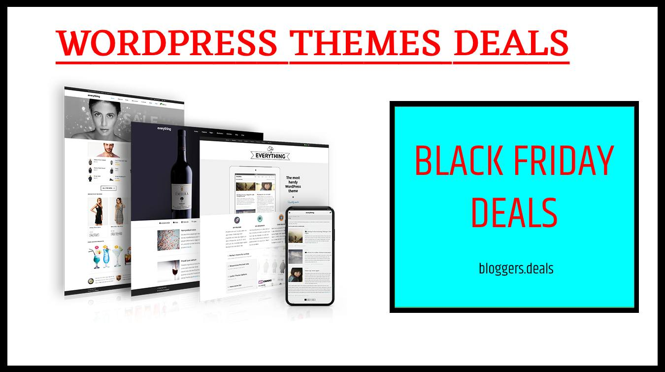 WordPress Themes Black Friday